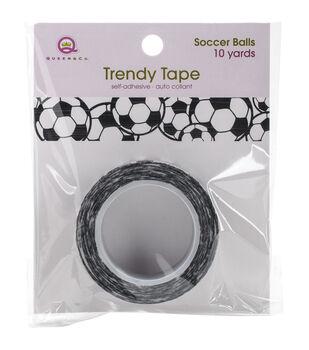 Queen & Co Soccer Balls Trendy Tape