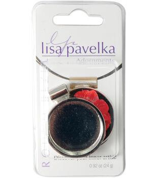 Lisa Pavelka Silver-Plated Bezel-1PK/Round