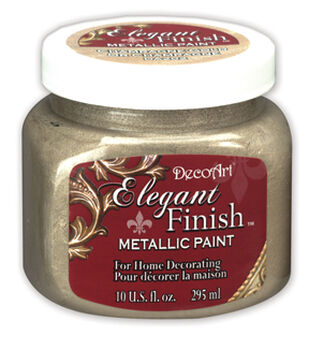 10 oz Elegant Finish Metallic Paint