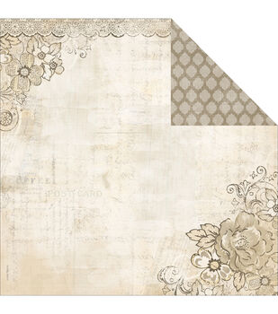 Adorn-It Wisteria B Double-Sided Cardstock