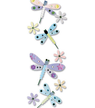 Touch Of Jolee's Dimensional Sticker-Dragonfly