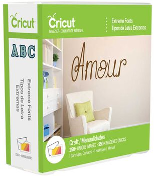 Cricut® Everyday Cartridge, Extreme Fonts