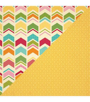 "Smidgen of Sweets - Birthday Bisque Double-sided Paper 12""x12"""