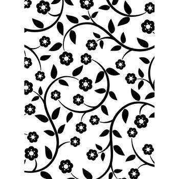 Darice Embossing Folder Flowers & Vine