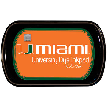 Clearsnap Colorbox University Licensed Dye Inkpad University Of Miami