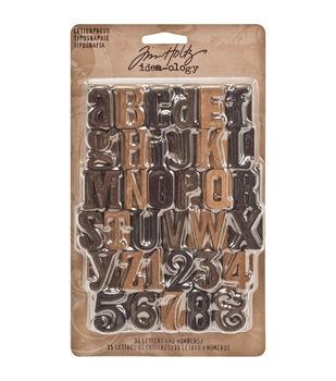 Letterpress, 35 pieces