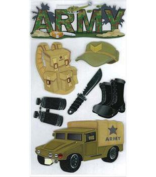 EK Success Dimensional Sticker-Army