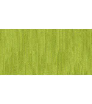 "Bazzill Cardstock 8.5""X11""-Sour Apple/Grass Cloth"