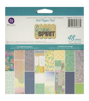 Prima Marketing Free Spirit Paper Pad 6''x6''