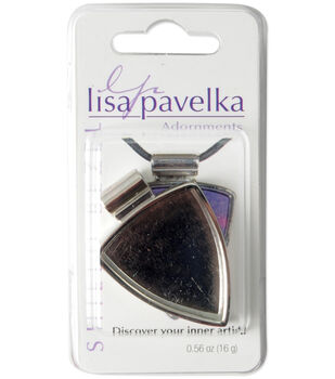 Lisa Pavelka Silver-Plated Bezel-1PK/Shield
