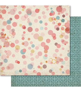 Ruby Rock-It Country Cookin' Splotch Double-Sided Cardstock