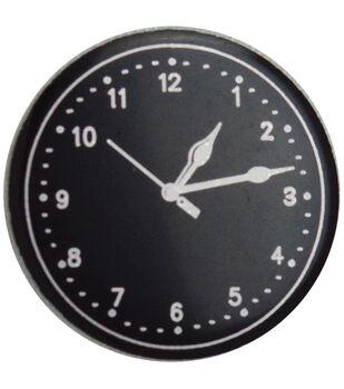 Metal Clock Face 50/Pkg-Small Black