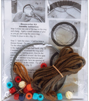 Silver Creek Mini Dreamcatcher Kit