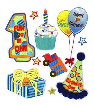 Jolee's Boutique Dimensional Embellishments-1st Birthday Boy