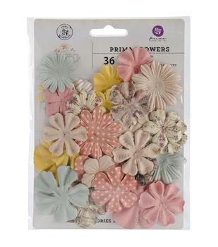 "Princess Flowers-paper Fairytale 1.75"" To 2"" 24/Pkg"