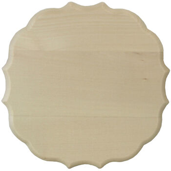 "Basswood Medallion Plaque-11""X11""X.75"""