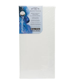 """Artists' Quality Stretched Canvas-6""""X12"""""""
