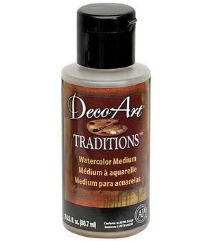 Deco Art Traditions Watercolor Medium 3oz