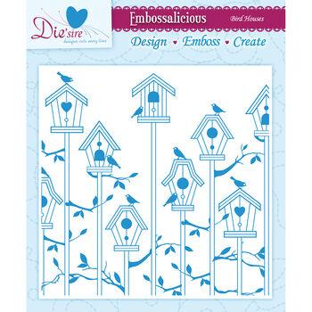 Crafter's Companion Embossalicious Embossing Folders Bird House