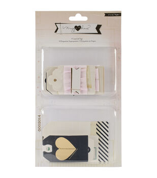 Crate Paper Maggie Holmes Open Book Layered Tags