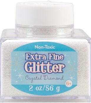 Fine Glitter 2 Ounces-Onyx