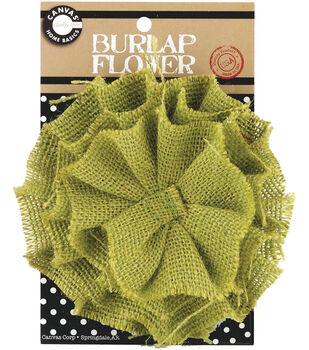 Burlap Flower