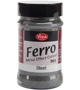 Ferro Metal Effect Textured Paint 3 Ounces-Copper