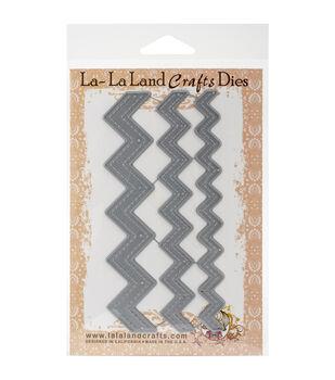 La-La Land Crafts Stitched Zigzags Dies