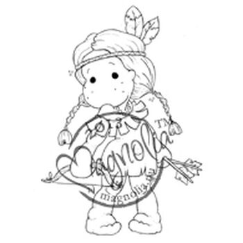 Magnolia 2013 Once Upon A Time Cling Stamp Indian Tilda