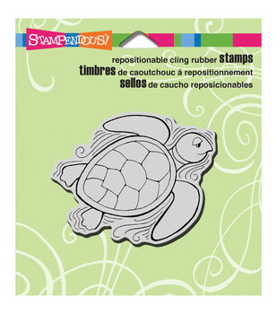 Stampendous Turtle - Cling Rubber Stamp