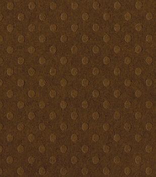 Bazzill Dotted Swiss Cardstock Paper Boardwalk 12''x12''