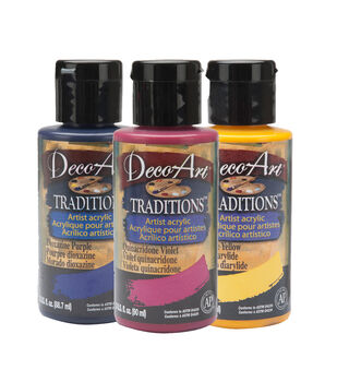 Traditions Acrylic Napthol Red Light