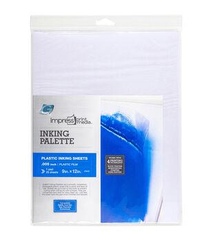 "Impress Inking Palette Pad 25/Pkg-9""X12"""