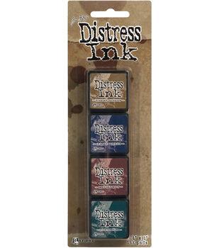 Distress Mini Ink Kits-Kit 12