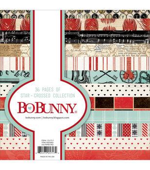 Bo Bunny Star-Crossed Paper Pad 6''x6''