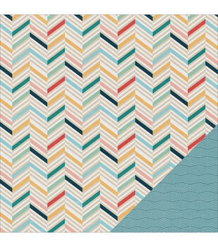 "Solstice Double-Sided Cardstock 12""X12""-Panama City"