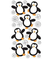 Dimensional Stickers-Penguins & Snowflakes