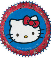 Wilton Standard Baking Cups-50PK\/Hello Kitty