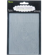 Embossing Folder 4.25inchesX5.75inches-Wood Grain