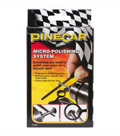 Pinewood Derby Car Micro-Polishing System
