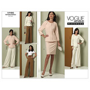 Mccall Pattern V1166 6-8-10-12 -Vogue Pattern