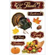 Give Thank 3d Stickers
