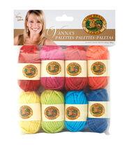 Lion Brand Vannas Palette Bonbons Yarn 8/Pkg- Happy