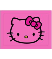 Sanrio Hello Kitty Pink Pillow