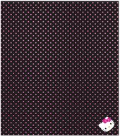 Sanrio Hello Kitty Polka Dot Finished Throw