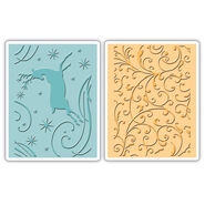 Sizzix Textured Impressions Embossing Folders Starry Night
