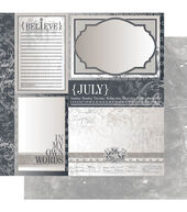 Deals Ruby Rock-It Year In Review July Double-Sided Cardstock Before Too Late