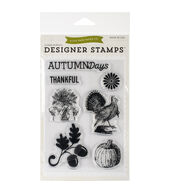 Echo Park Stamps 4inchesX6inches Hello Fall