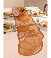Pumpkin Tablerunner Rust 72 X 14