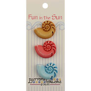 Fun In The Sun Buttons-Nautilus Shells
